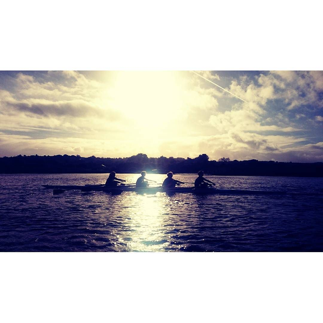Back on the water and settling back into training  #Training #Rowing #JesRowing #IrishRowing #WomensRowing #Galway #Sunset #WomensCrew #ThisIsOurYear by c.i.r.c