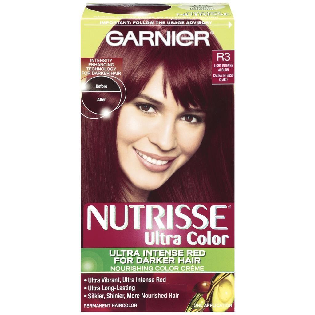 Schwarzkopf color ultimate online kaufen - Garnier Nutrisse Ultra Color Nourishing Color Cr Me R3 Light Intense Auburn Packaging May Vary