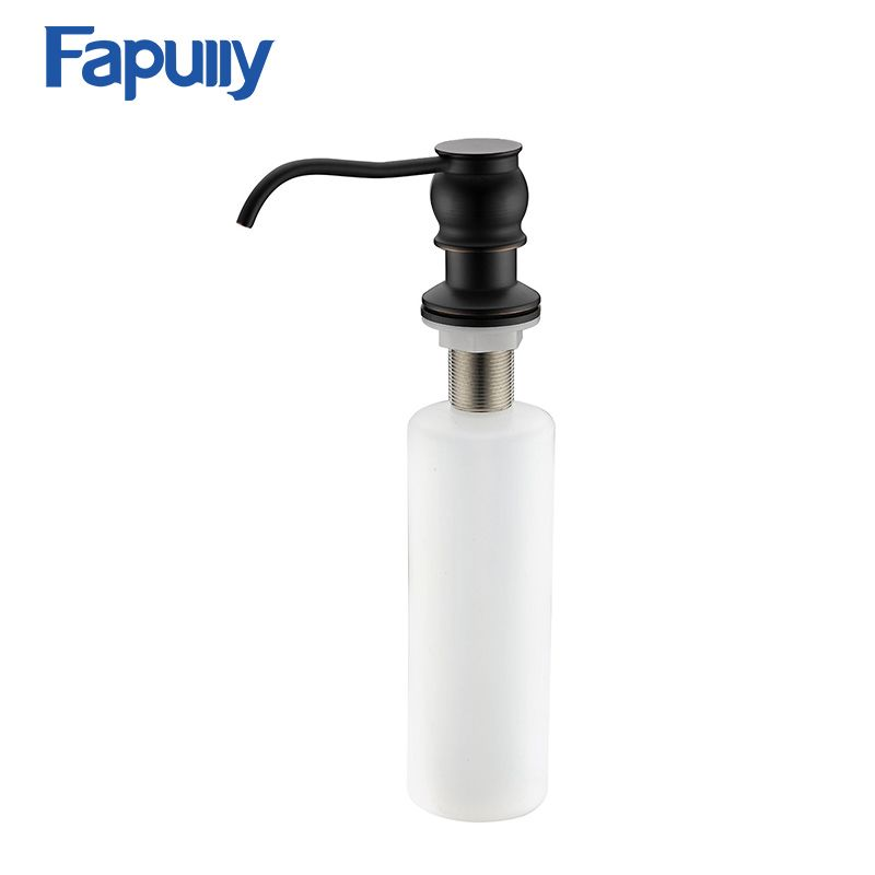 Fapully Kitchen Sink Countertop Soap Dispenser Deck Mount Hand Oil