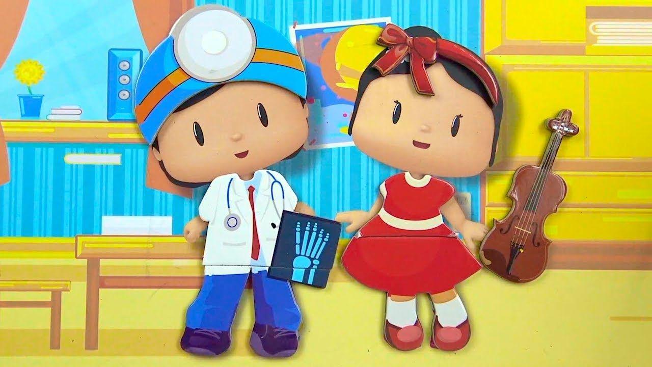 Pepee Sila Giydirme Kutu Oyunu Harika Meslekler Doktor Pepee