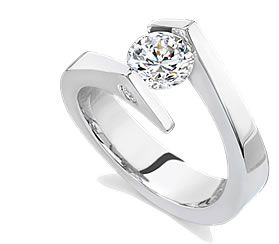 Tension Setting Engagement Ring Some Day