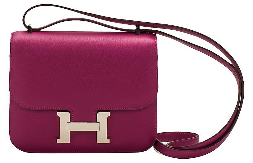 947b92cf703e Hermès Constance 18 Rose Pourpre - Vintage Lux