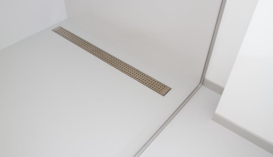 Gietvloer Badkamer Douche : Badkamergietvloer by excellent epoxyvloeren superstrakke