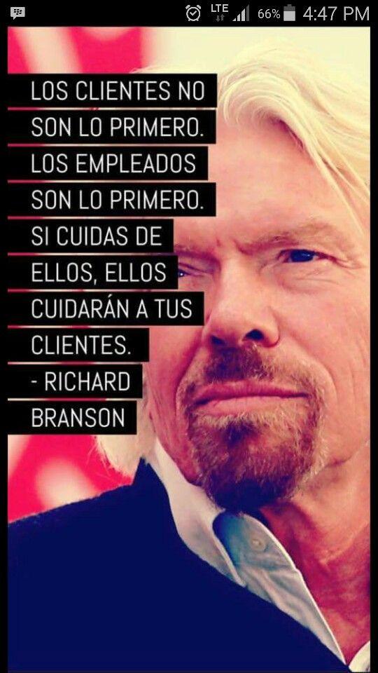 Empleados Richard Branson Frases Richard Branson Y Frases