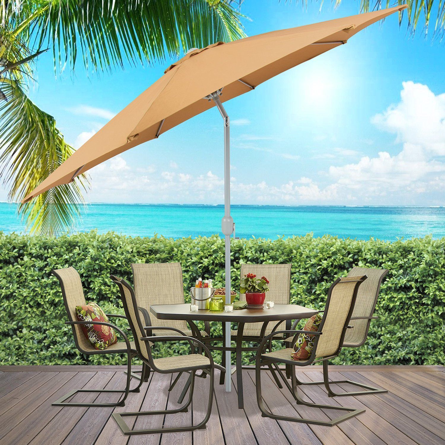 A Look At Several Of The Best Market Patio Umbrellas Available Today