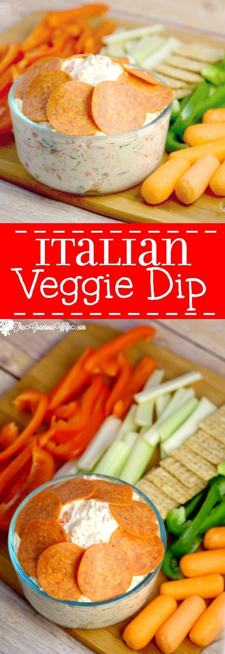 Italian Veggie Dip Cold Dip Recipes Veggie Dip Veggie Dip Recipe