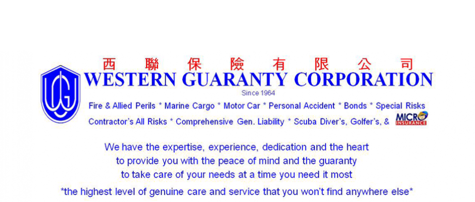 Western Guaranty Corp Is Now One Of The Largest Most Credible And Stable Non Life Insurance Companies In The Life Insurance Companies Peace Of Mind Insurance