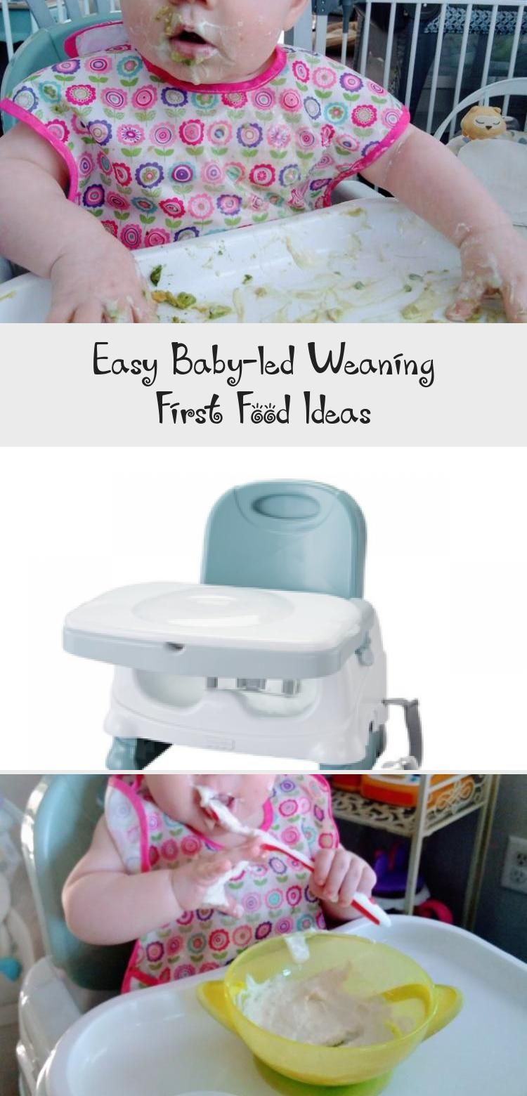 These simple, minimal-prep, baby-led weaning first food ideas are perfect for teaching a 6 month old how to eat! You can't go wrong with simple baby-led weaning first foods such as banana, avocado, and yogurt. #babycareHair #babycareShop #Parentingbabycare #babycareJournal #babycareProducts #babyledweaningfirstfoods