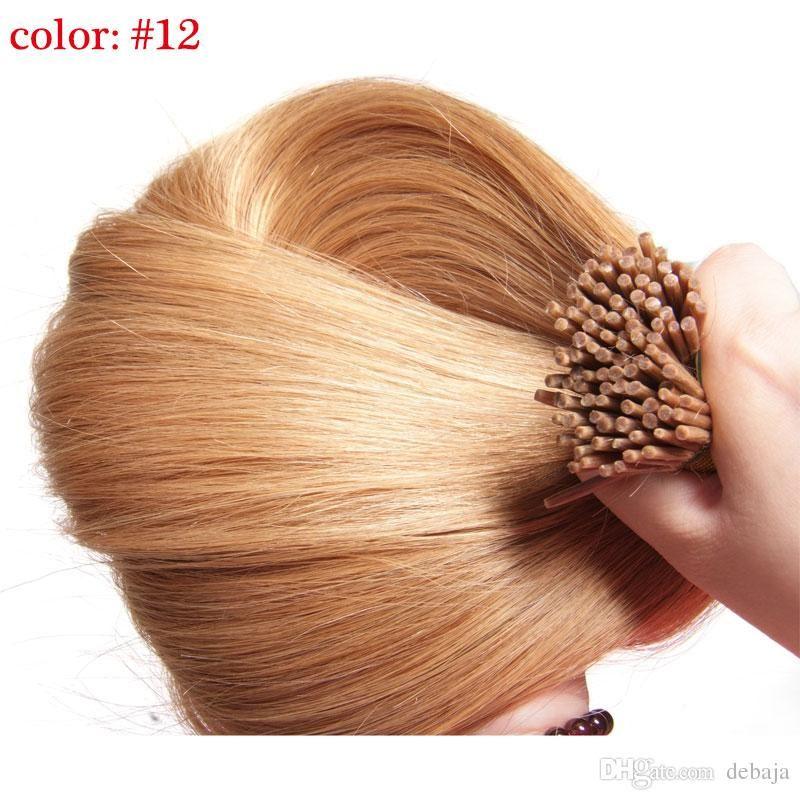 Cheap Brazilian Virgin Hair 05gs100spack I Tip Hair Extension