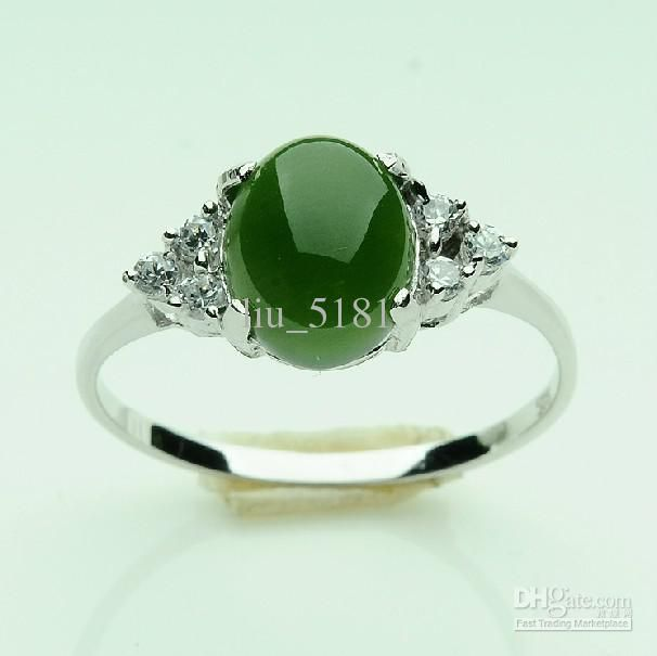 2017 925 Silver And Nephrite Jade Rings For Men And Women Ring From  Liu_5181, $77.67