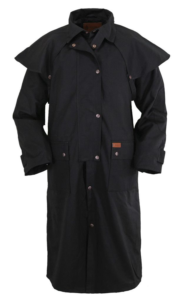 Outback Trading Co Low Rider Duster Mens Coat Black 100
