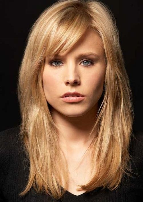 Top 50 Hairstyles For Square Faces Herinterest Com Fringe
