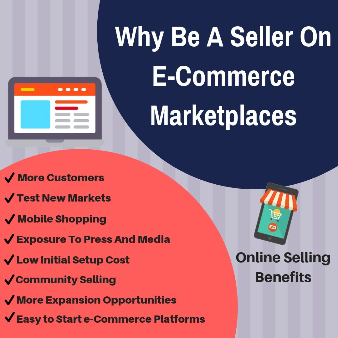 Online Selling Benefits Why be a seller on