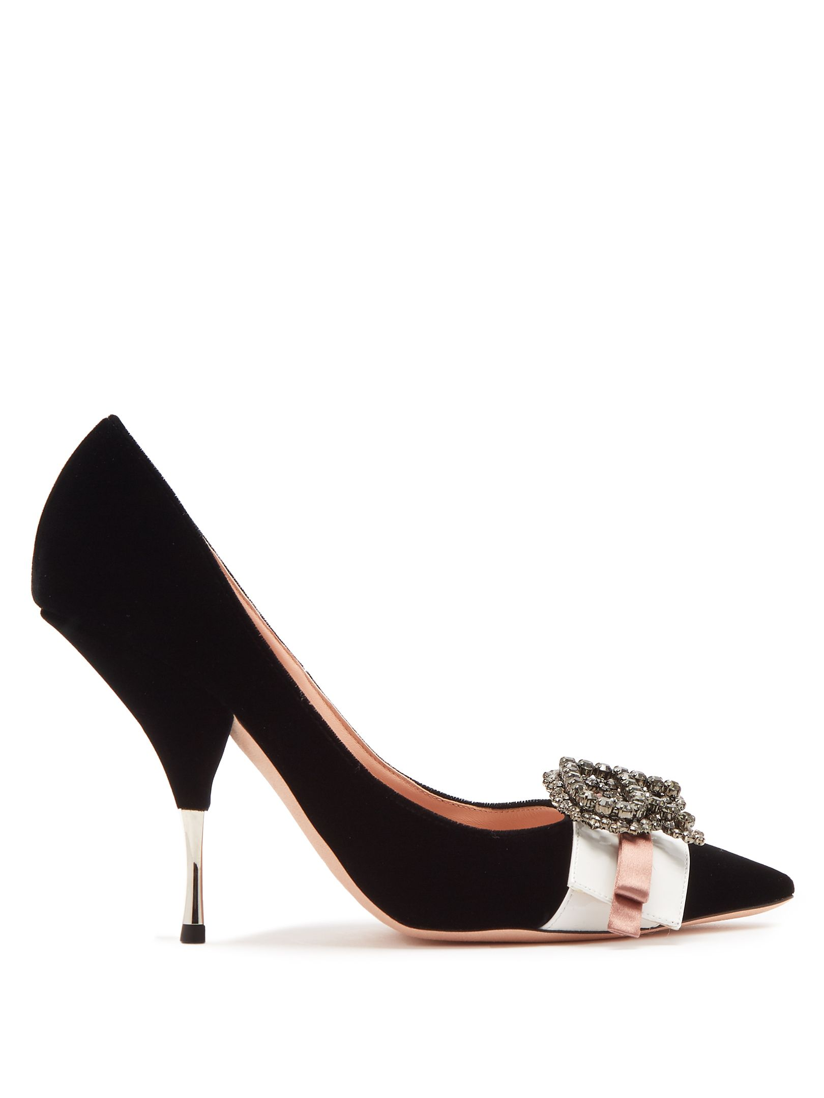 4dc0595489  rochas  shoes   Crystal Logo