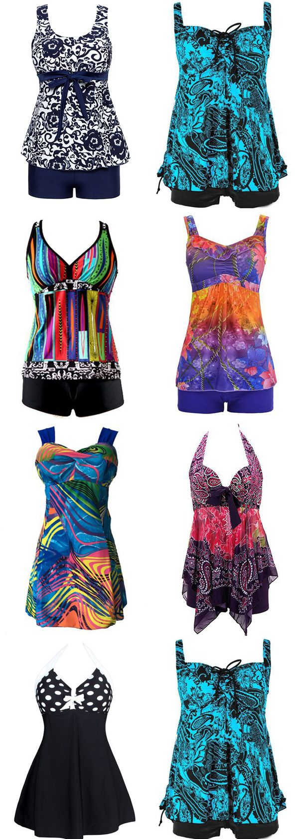 cute tankini swimsuits for women 2017