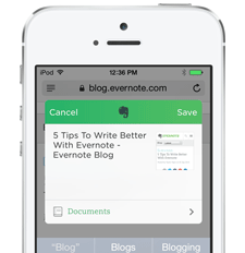 How to Clip Web Content Into Evernote Using Android and iOS