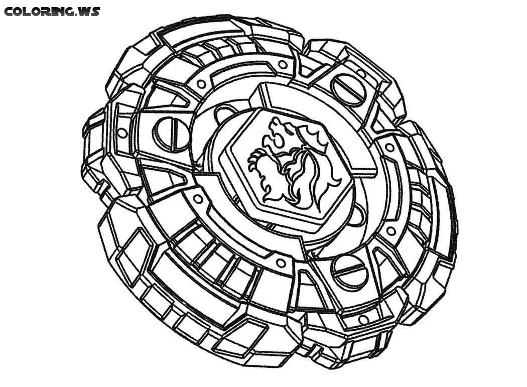 beyblade 05 coloring pages to print
