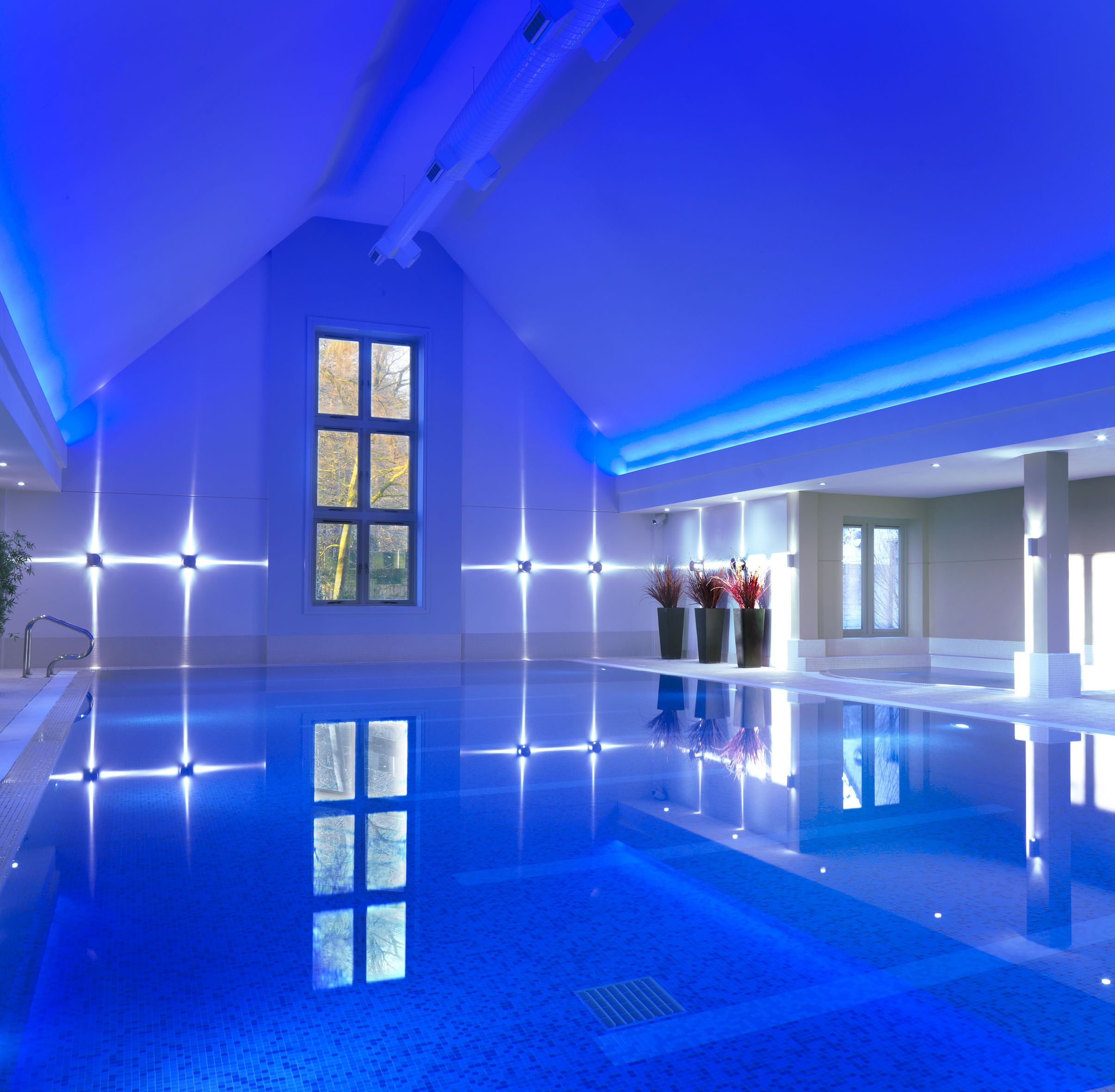 The Indoor Pool At Calcot Spa Calcot Manor Hotel Near Tetbury In The Cotswolds Http Www Calcotmanor Co Uk Calcot Spa Luxury Spa Hotels Hot Tub Outdoor Manor