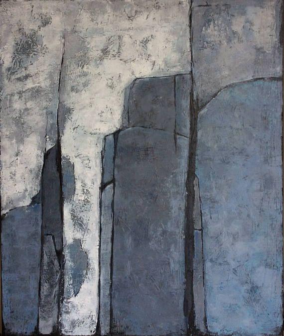 Abstract Art Large  Painting Original Wall Art Canvas Living