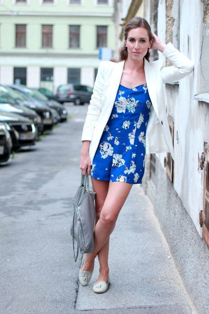 2014 Jumpsuit: She Inside // Slipper: Chatelles // Tasche: Stella McCartney // Blazer: Zara