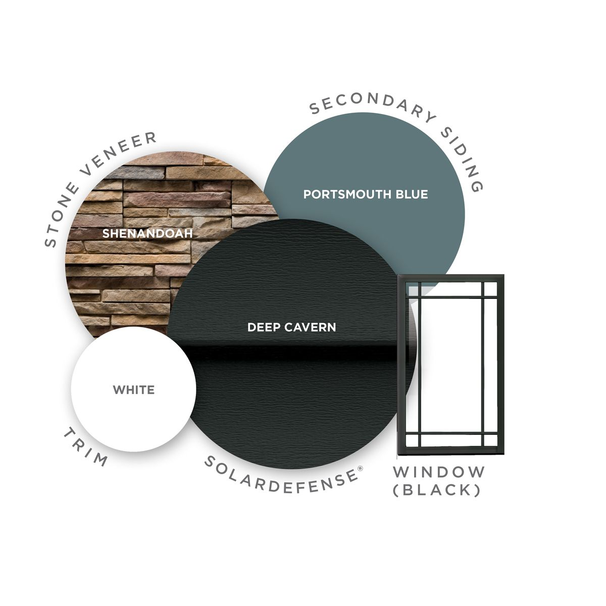 Home Exterior Design Tool: Combine Bold And Charming Colors To Create A One-of-a-kind