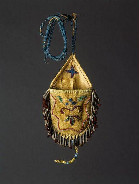 lakota indians artwork   Native American Plains Indian Lakota Sioux Pouch - Art & Antiques ...