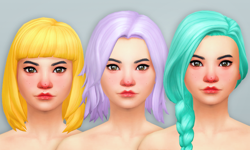 Recolours: Get Together Hair