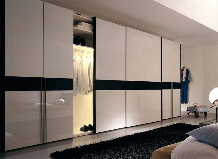 Delicieux How To Organize A Closet With Sliding Doors Closet Doors Sliding 4 Panel Sliding  Closet Doors