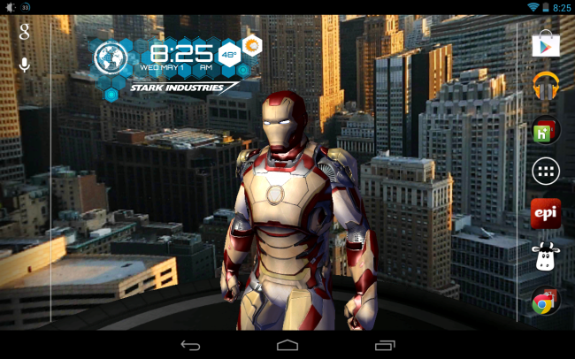 Wow 24 Iron Man Jarvis Live Wallpaper Android Iron Man 3 Live Wallpaper Would Make Stark Industries Proud Mak Android Wallpaper Live Wallpapers Ironman Live