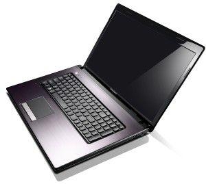 """1TB of harddrive (!) -- Lenovo IdeaPad G780 17.3"""" HD+/Core i5-3230M/6 GB/1 TB/Windows 8, tumman ruskea, harjattu metalli."""