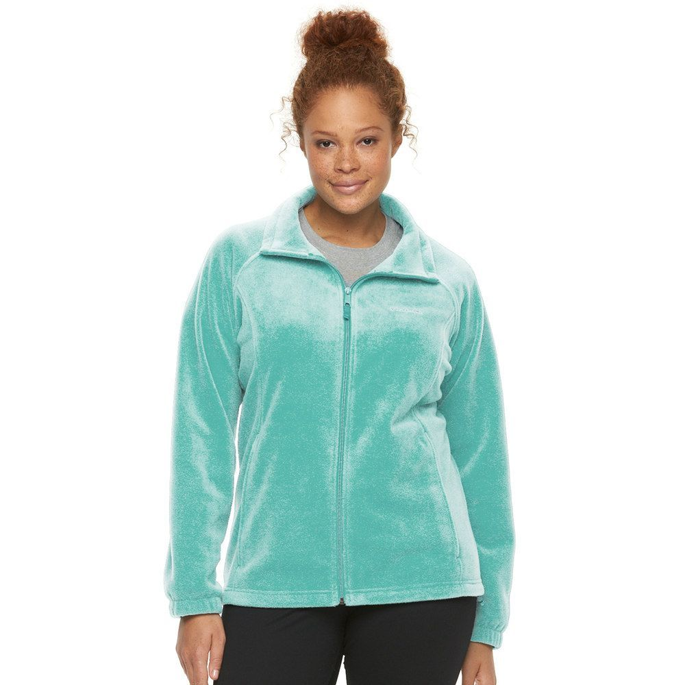 ec635d2aa69 Plus Size Columbia Three Lakes Fleece Jacket
