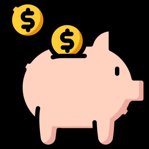 Piggy Bank Free Vector Icons Designed By Freepik Free Icons Apple Icon Flat Design Icons