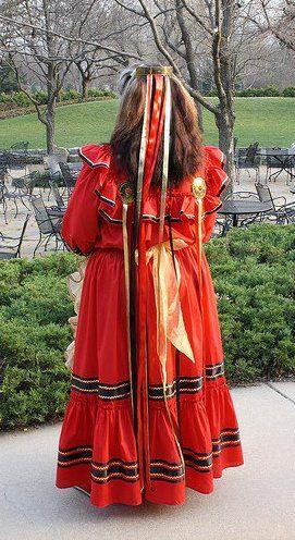 Chickasaw Dress Back View