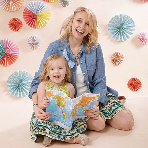 The bright colors and fun designs  from Matilda Jane create comfy clothes girls love. And with grown-up styles, Mom can enjoy the spirit of individuality too! #zulilyfinds