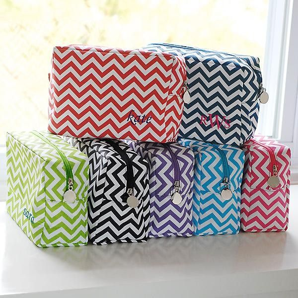 5f1f01130655 Chevron Makeup Bag Blank