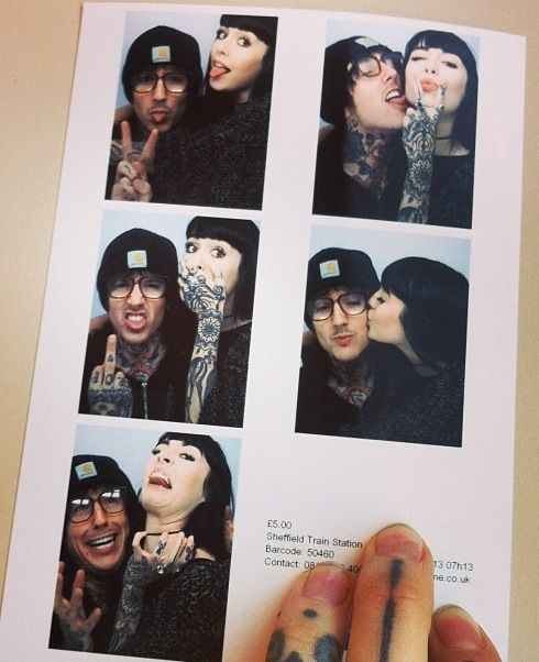 Oliver Sykes & His Girlfriend | Oliver Sykes | Hannah ...