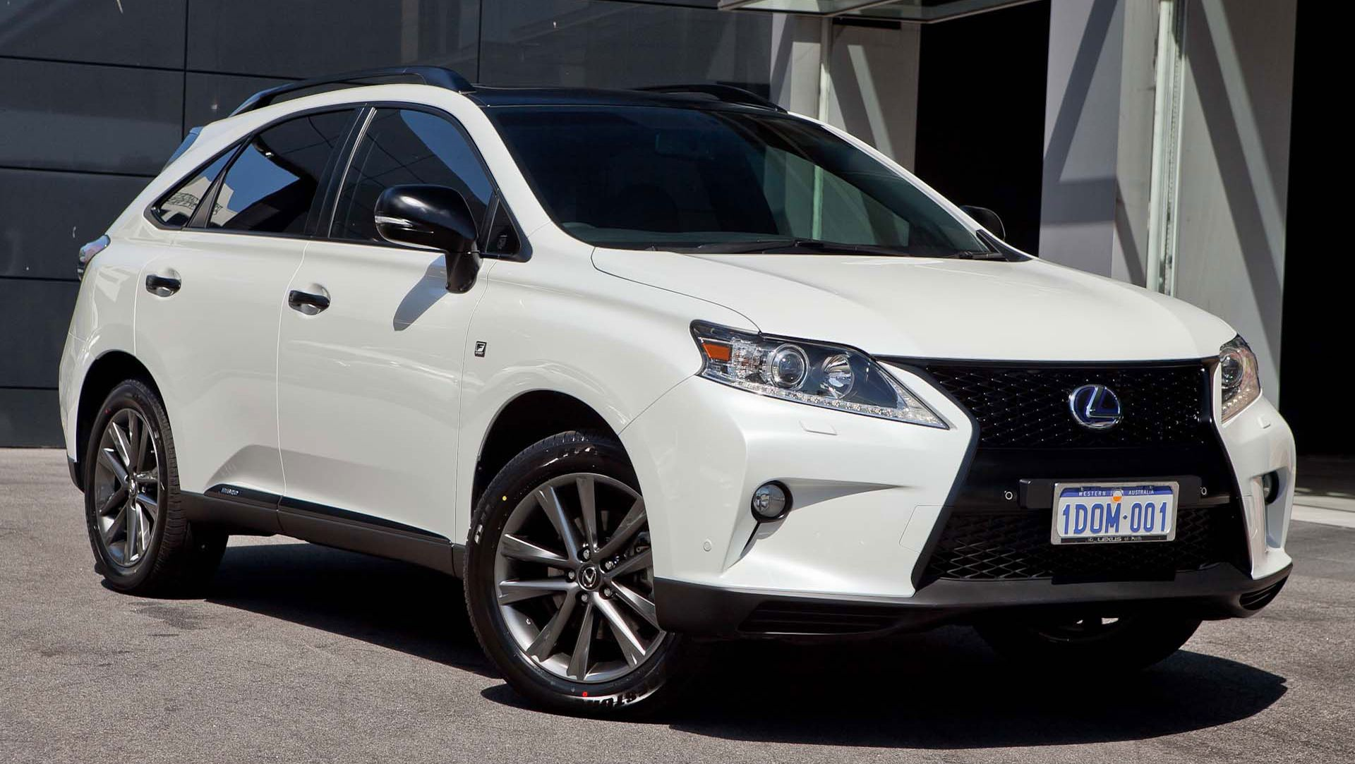 Photo Blacked Out Lexus Rx 450h F Sport With Images Lexus