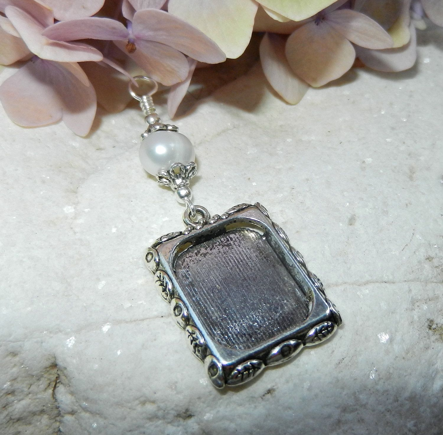Wedding Bouquet Memory Charm Pearl Bridal Frame Freshwater By