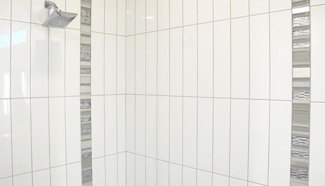 4x12 Glossy Black Subway Glass Mosaic Tiles for Bathroom and Kitchen Walls Kitchen Backsplashes by Vogue Tile