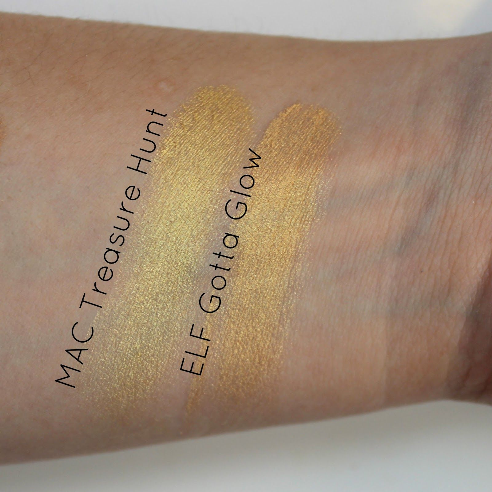 Review & Swatches ELF Smudge Pots & MAC Dupes (With