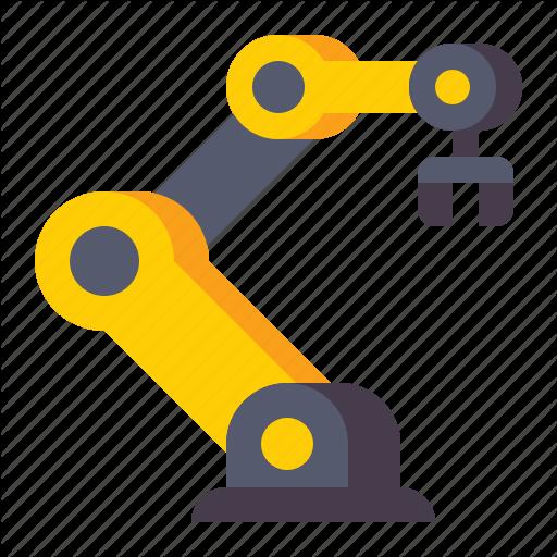 Arm Machine Robot Icon Download On Iconfinder Robot Icon Icon Robot
