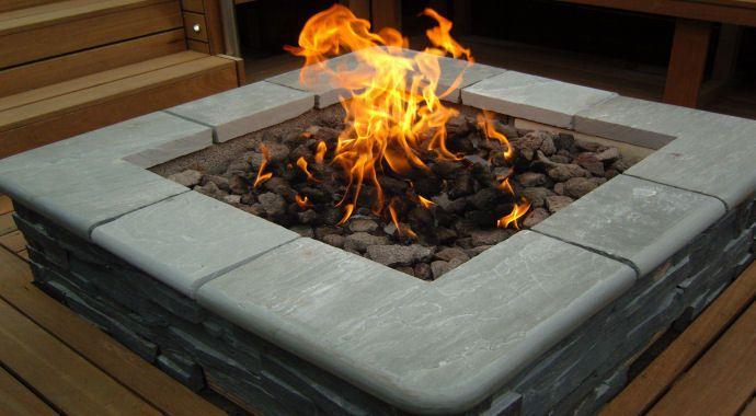 Details About Brightstar Lpg Bottled Gas Fire Pit Burner