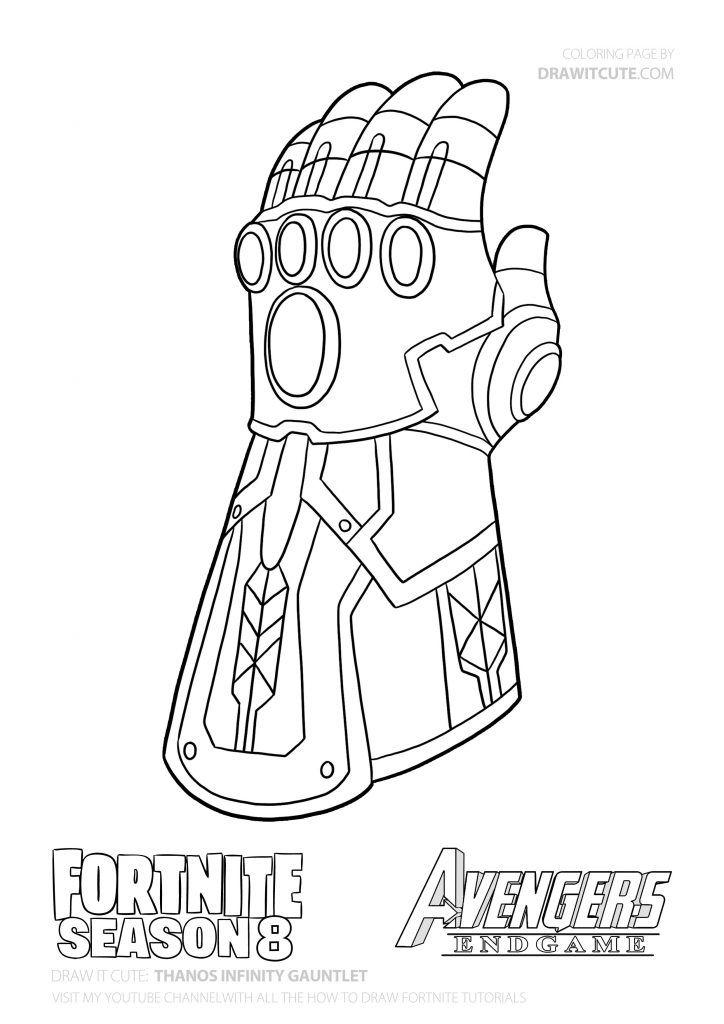 How To Draw Thanos Infinity Gauntlet V 2020 G Raskraski Risunki Dlya Raskrashivaniya Risunki