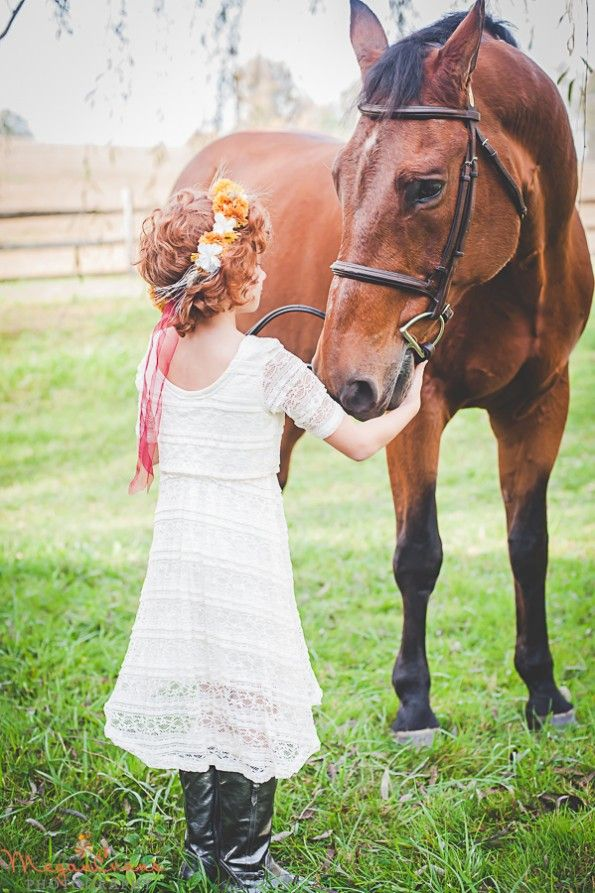 A Girl and Her Horse by Megan Evans Photography