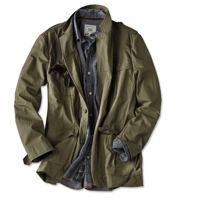 2f875c7994bc Just found this Lightweight Travel Jacket - Ripstop Cotton-Blend Bush Coat  -- Orvis on Orvis.com!