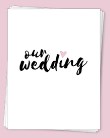 Our Free Wedding Planning Binder Download Comes In Three Fresh Color Options So You Can Pick