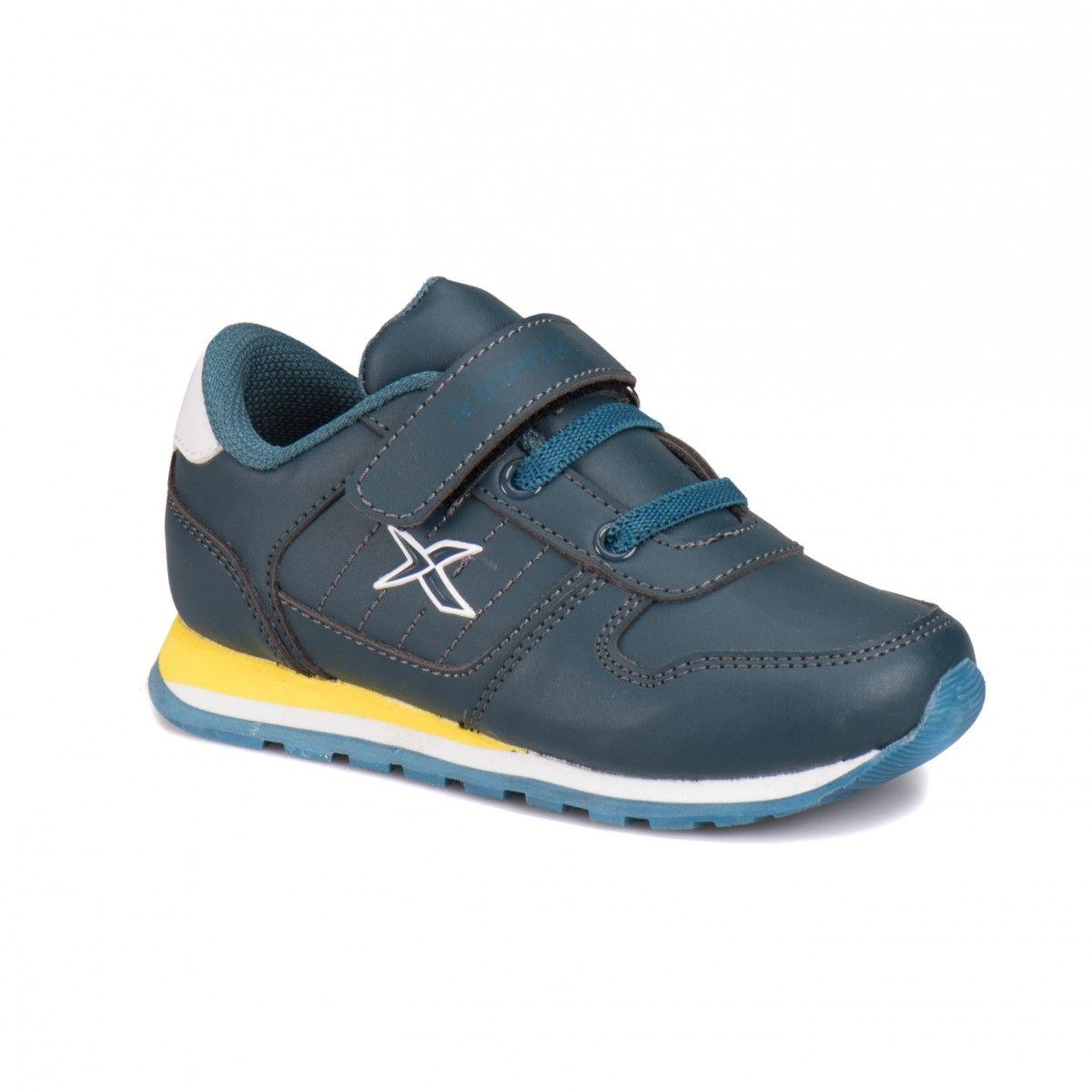 Kinetix A1318338 Petrol Sari Beyaz Erkek Cocuk Sneaker Sneaker Ayakkabilar Urunler