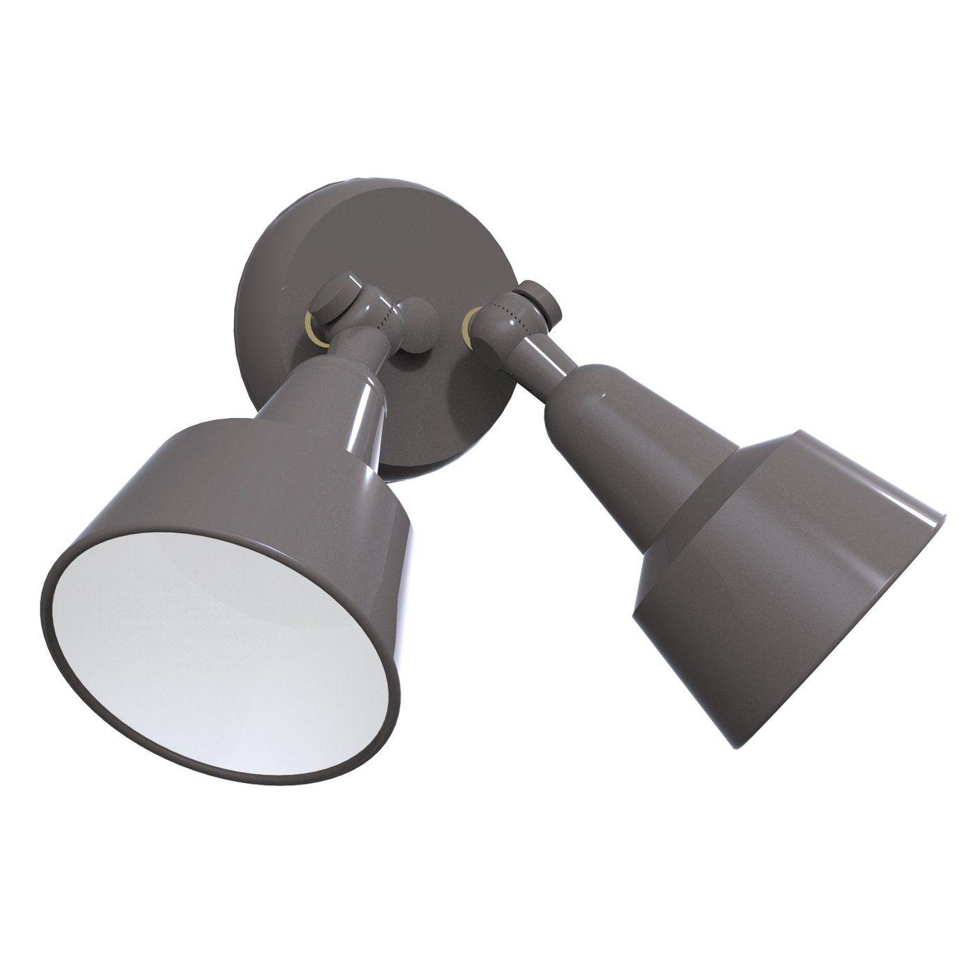 Remcraft Lighting 203 2 Light Accent Double Swedish Modern Bullet ... for Ceiling Double Spot Light  285eri