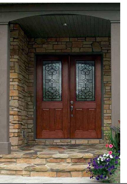 Recessed Front Door