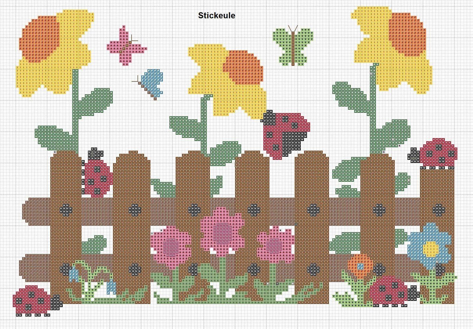 Stickeules Freebies: Blumen